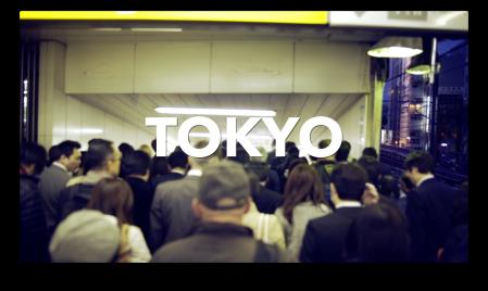 Japan Tokyo Metro Station